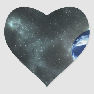 space-1248p heart sticker