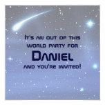 Space 13cm X 13cm Square Invitation Card