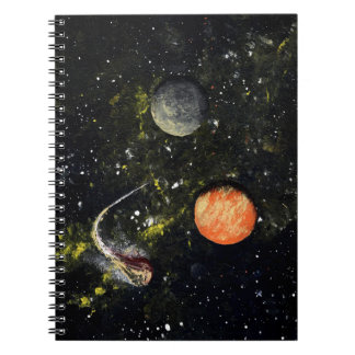 SPACE 17 an outer space design Spiral Notebooks