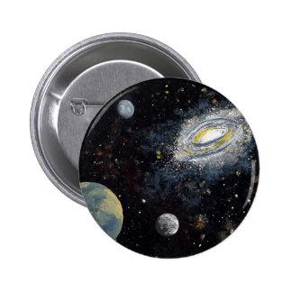 SPACE 8 ~ 6 CM ROUND BADGE