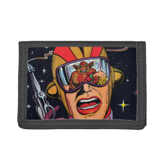 Space Action #2 Trifold Wallets