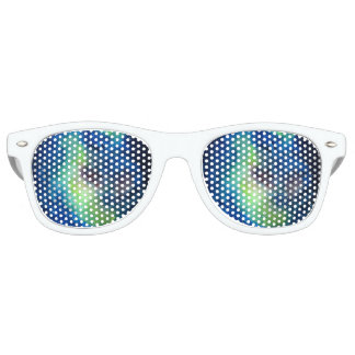 Space Adult Retro Party Shades, White