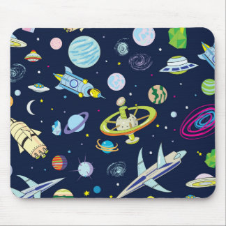Space Adventure Mouse Mat