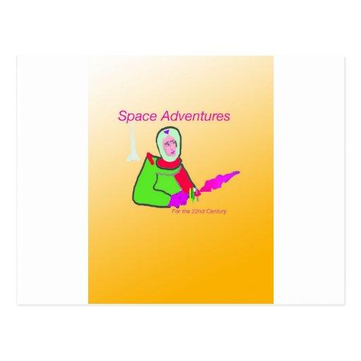 Space Adventure Postcard