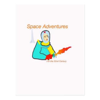 Space Adventure Postcards