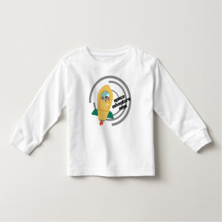 Space adventure time Toddler Long Sleeve T-Shirt