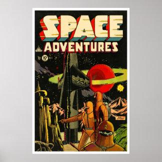 Space Adventures 5 1953 Print