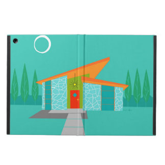 Space Age Cartoon House iPad Case