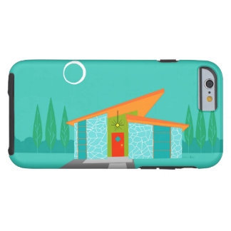 Space Age Cartoon House iPhone 6/6S Case