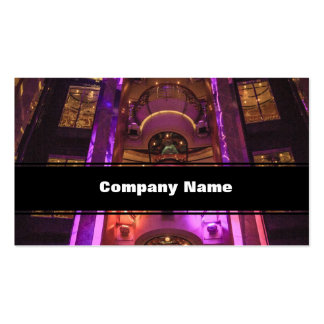 Space Age Pink Purple Pack Of Standard Business Cards