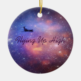 Space Airplane Ornament