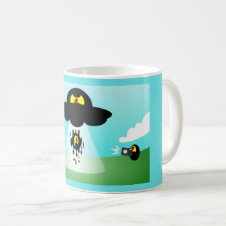 Space Alien Abduction Mug