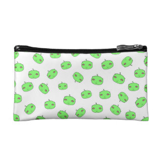 Space Alien Face Pattern Cosmetic Bag