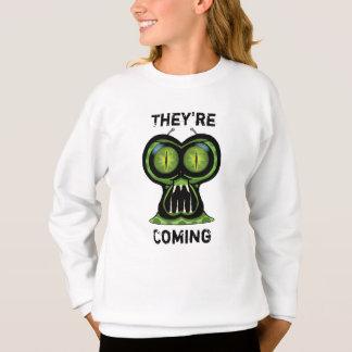 Space Alien Girls' Hanes ComfortBlend® Sweatshirt