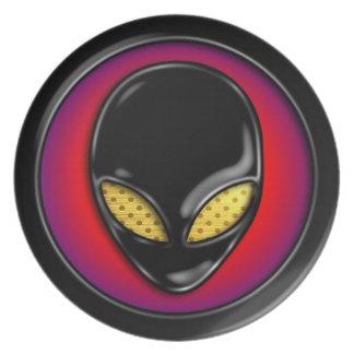 Space Alien Head Plate