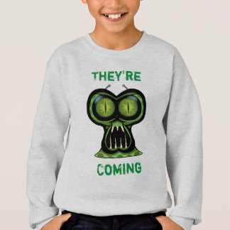 Space Alien Kids' Hanes ComfortBlend® Sweatshirt