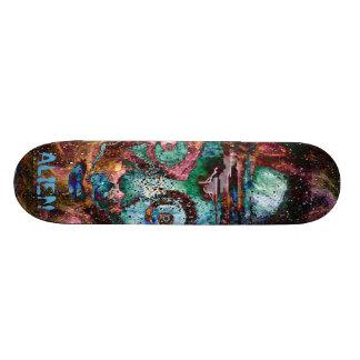 Space Alien Nebula Punk board Skate Boards