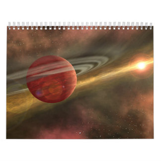 Space and its beauty calendar