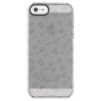 Space And Science Doodles Clear iPhone SE/5/5s Case