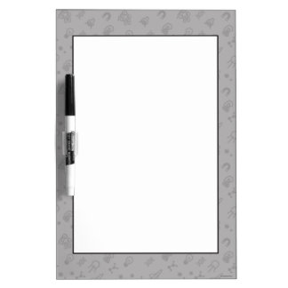 Space And Science Doodles Dry Erase Board