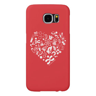 Space And Science Heart Samsung Galaxy S6 Cases