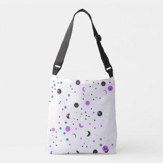 Space and shape design crossbody bag