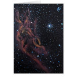 Space Art Astronomical Painting- California Nebula Greeting Cards
