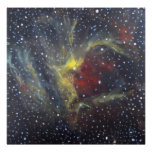 Space Art Poster - Wizard Nebula