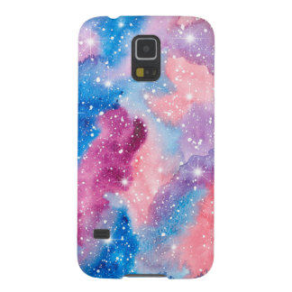 Space Art Watercolor Galaxy Galaxy S5 Covers