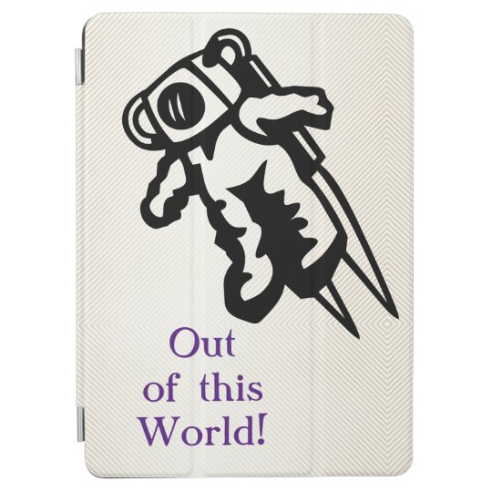 Space Astronaut Cosmonaut Encouragement iPad Pro Cover