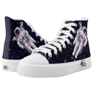 Space - Astronaut Printed Shoes