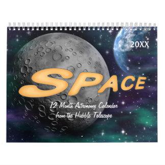 Space Astronomy Calendar 2018