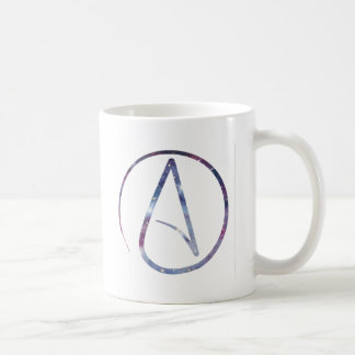 Space Atheist Symbol Coffee Mug