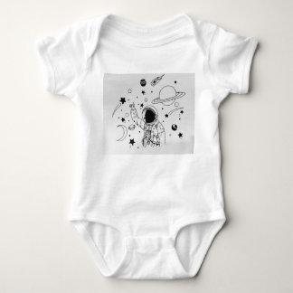 space Baby Baby Bodysuit