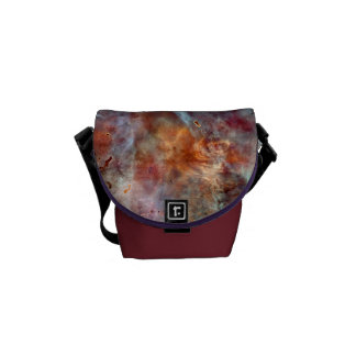 Space Bags Colourful Abstract Messenger Bag