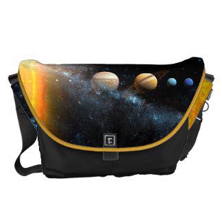 Space Bags Solar System Messenger Bag