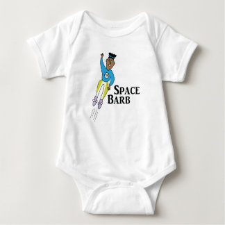 Space Barb the Hero #1 Baby Bodysuit