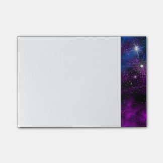 Space beautiful galaxy night starry  image post-it notes