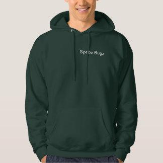 Space Bugz Green Hoodie