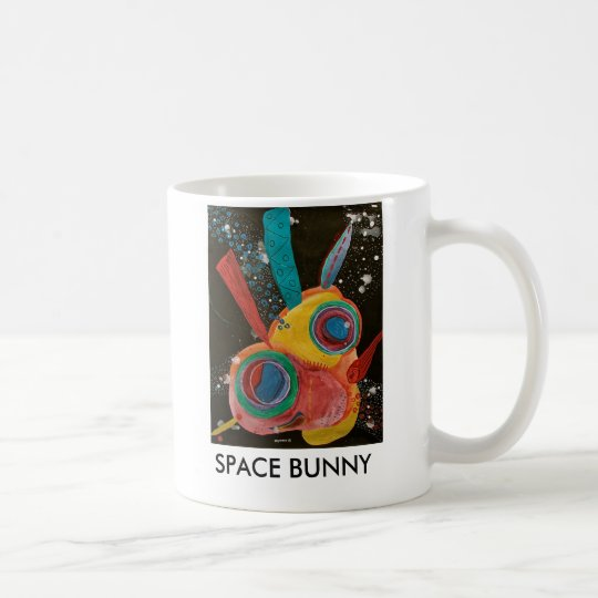 Space Bunny Coffee Mug