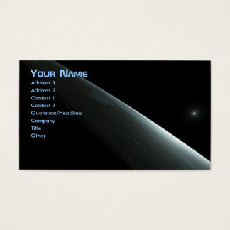 Space Business Card