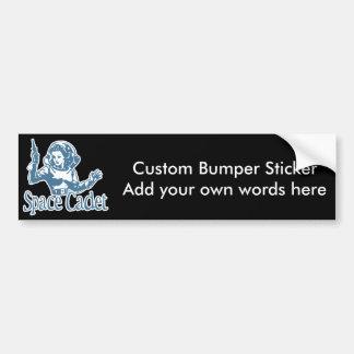 Space Cadet Blue Bumper Sticker
