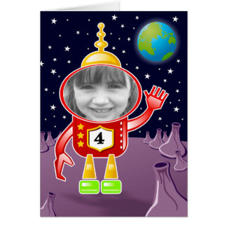 Space Cadet Card