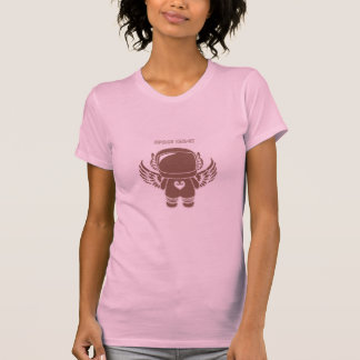 Space Cadet - Chocolate Brown T-Shirt
