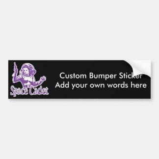 Space Cadet Purple Bumper Sticker