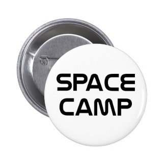 Space Camp 6 Cm Round Badge