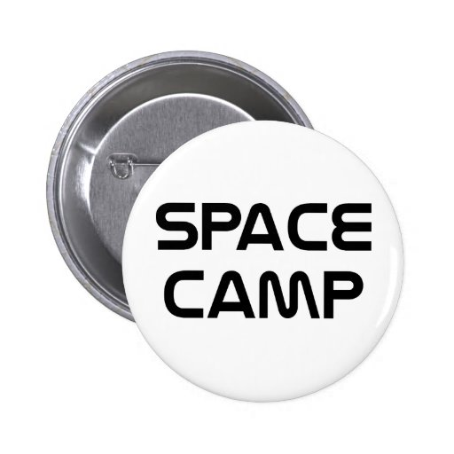 Space Camp Pinback Buttons