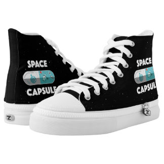 Space Capsule Printed Shoes