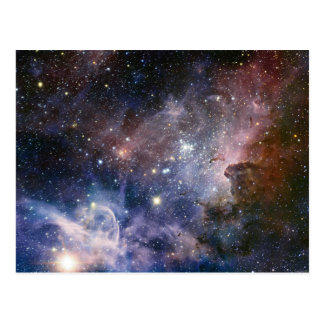 Space Carina Nebula Astronomy Spectacular Postcard