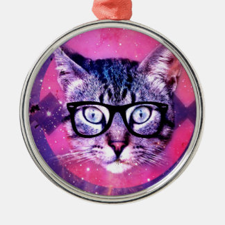 Space Cat Christmas Ornament